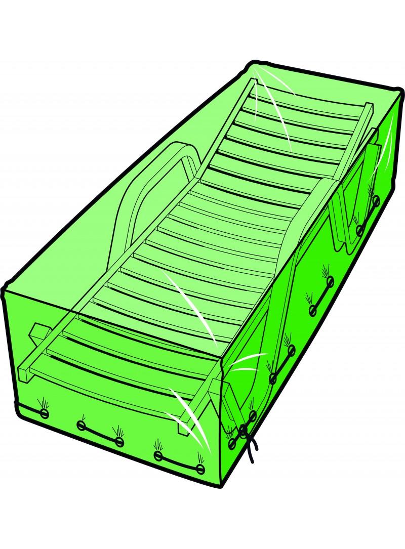 housse bain de soleil 200 x 75 x 45 cm. Black Bedroom Furniture Sets. Home Design Ideas
