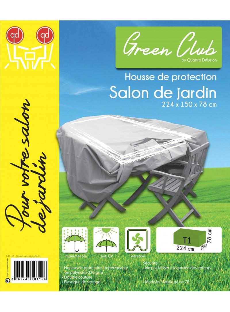 Housse pour salon de jardin l 270 x l 150 x h 78 cm for Salon de jardin occasion 78