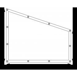 Bâches plates sur mesure - Forme 2