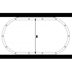 Bâches sur mesure My-Housse Forme 4 ovale