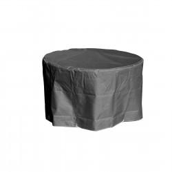 Housse de protection pour Table de Jardin ronde grise D 120 x h 70 cm