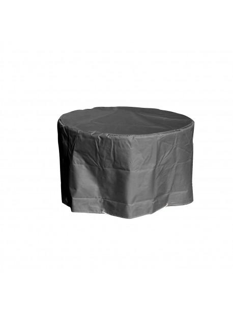 Housse de protection Table de Jardin ronde grise D120 x h70 cm My Housse