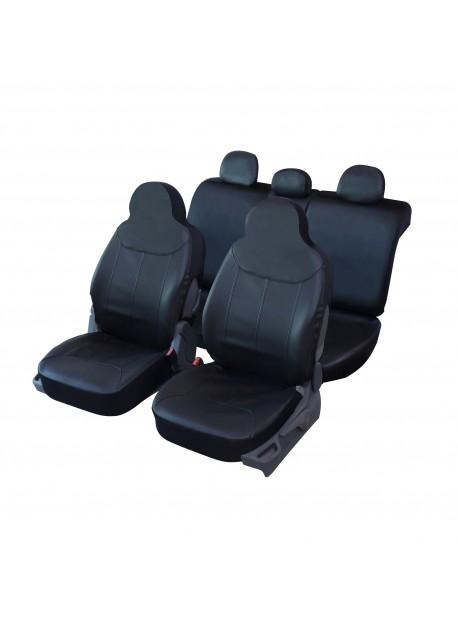 Housse siège auto universelle spéciale Citadine en simili cuir noir