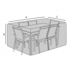 Housse de jardin sur mesure forme rectangulaire