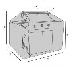 Housse de protection pour barbecue sur mesure