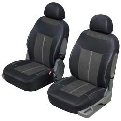 Housse siège auto avant universelle Gris et noir