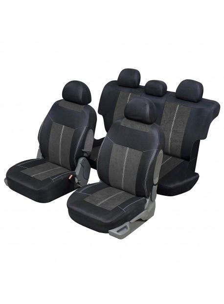 Housse siège auto universelle pour 4x4 et SUV Gris et noir