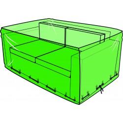 Housse pour canapé de jardin 2 places - 140 x 80 x 60 cm