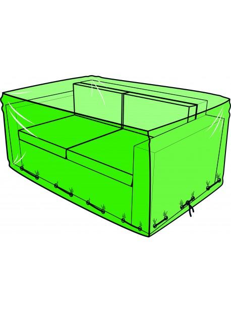 Housse pour canapé de jardin 2 places - 145 x 65 x 95 cm