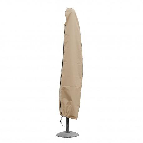 Housse parasol droit H 185 x Ø haut 25 x Ø bas 40 cm