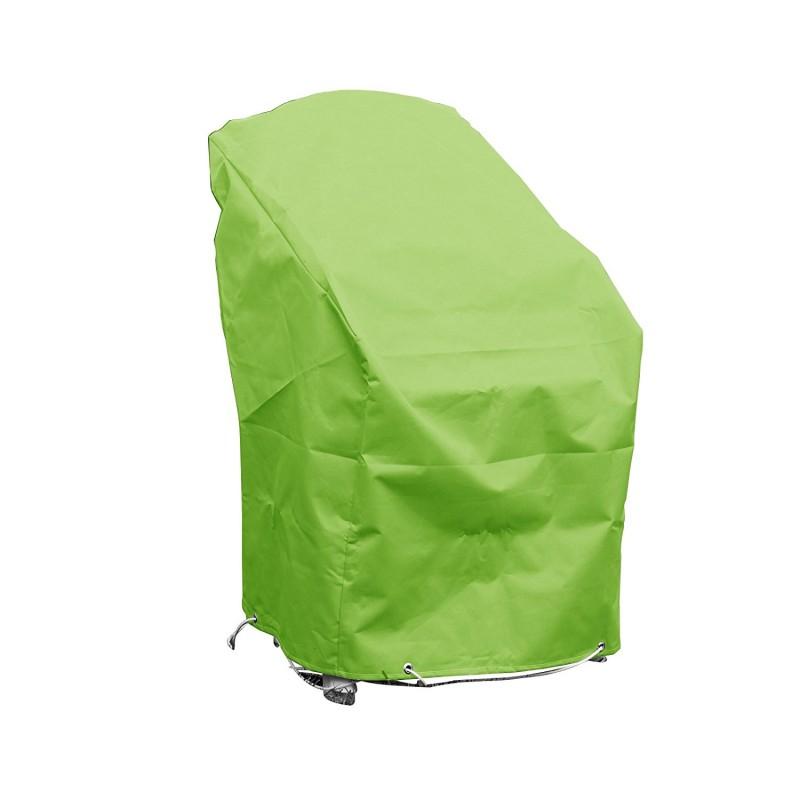 housse de protection pour chaises de jardin empilables l 70 x l 65 x h 70. Black Bedroom Furniture Sets. Home Design Ideas
