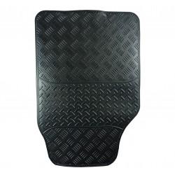 Tapis auto imitation Carbone Mat 4 pièce PVC