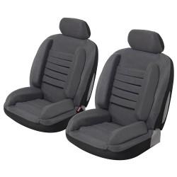 Housse siège avant anti mal de dos, super confort Gris