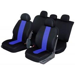 Housse siège auto universelle pour citadine, break, berline, suv et 4x4 coloris Bleu noir