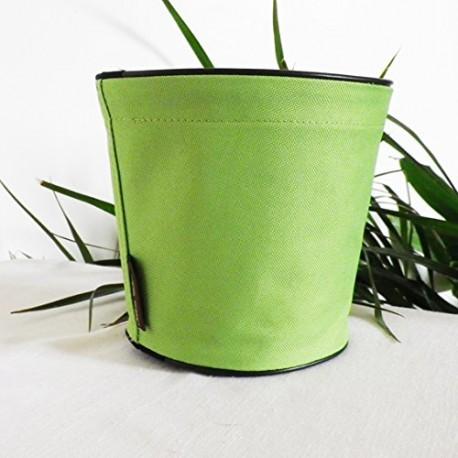Pot de fleurs en textile - 100 % étanche - Vert