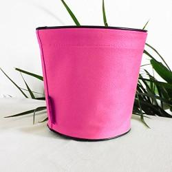 Pot de fleurs en textile - 100 % étanche, 3 tailles - Rose