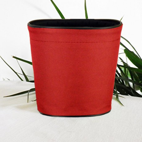 Pot de fleurs en textile - 100 % étanche, 3 tailles - Rouge