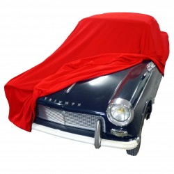 Housse carrosserie intérieur TS Premium coloris rouge