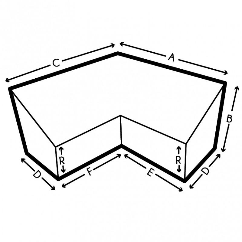 cr ez votre housse de protection de canap d 39 angle sur mesure. Black Bedroom Furniture Sets. Home Design Ideas