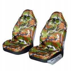 Lot de 2 sièges auto avant express camouflage Chasse et pêche
