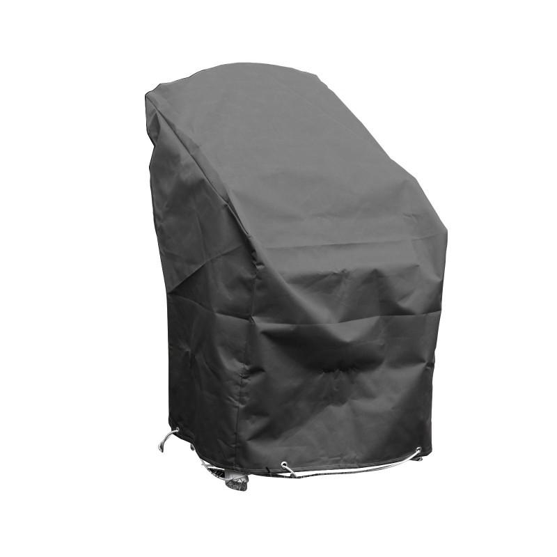 Housse de protection pour chaises de jardin empilables l - Housse de chaise de jardin ...