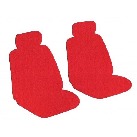 Housse siège avant universelle Polaire Rouge